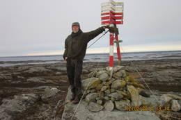 På toppen av Hestnesfjellet -  Foto: Per Berg.
