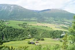 Utsikt fra Luhåmmårn -  Foto: Jenny Kristin Heggvold