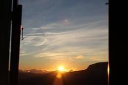 Utsikt frå utedoen ved Gjegnabu, foto: Arve Idar Utnes - Foto: Arve Idar Utnes