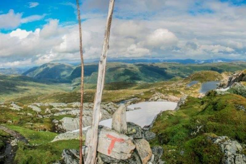 Utsikt over Bergsdalen