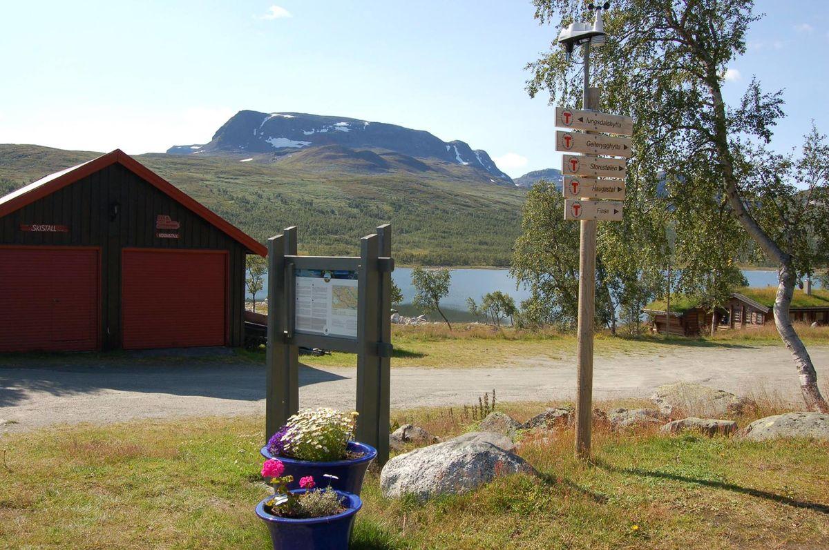 Raggsteindalen er et godt utgangspunkt for flere turer!