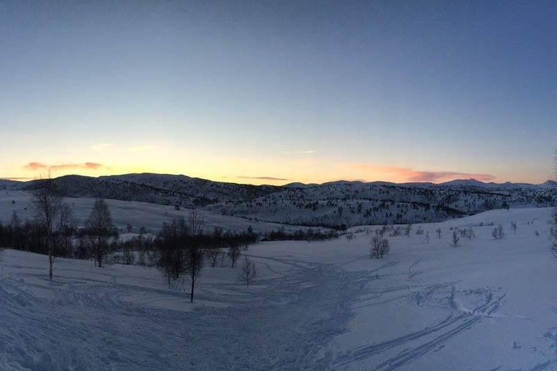 Vinterlandskap, Grytbakksetra