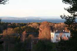 Utsikt mot gården Botner. -  Foto: Turperler - Linken Raeng