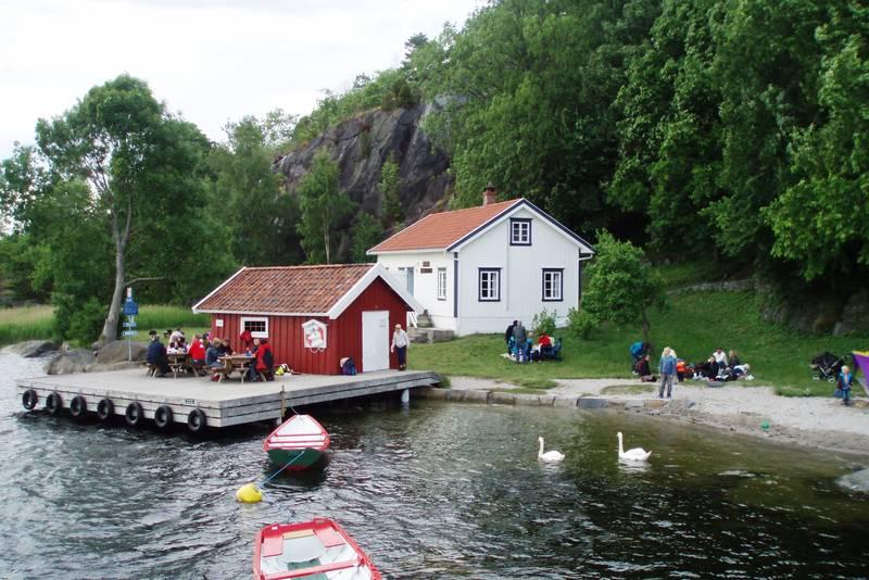 Sommer i Sildevika