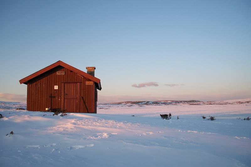 Lyngbua, på en kjempefin vinterdag vår 2012