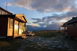Rauhelleren i kveldsol -  Foto: Tone Merete Bruvik