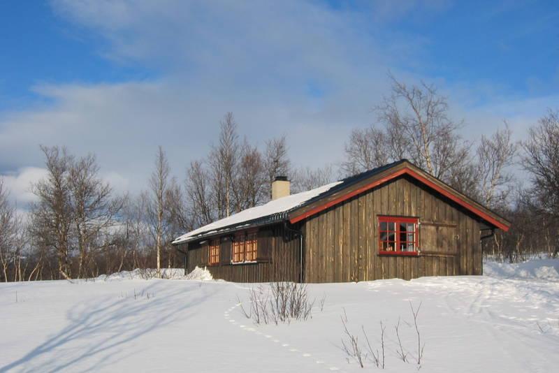 Skriurusten fotografert 27.2.2005. Et flott og snilt vinterfjell.