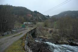 Brua på Elve - Foto: Ukjent