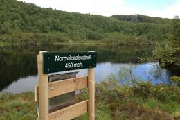 Nordvikstølsvatnet -  Foto: Åsmund Berthelsen