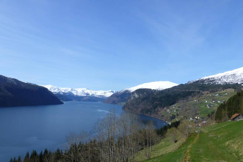 Utsikt over Nordfjorden
