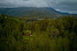 Trollstua med Bjønnavatnet og Jørgenvågsalen i bakgrunnen