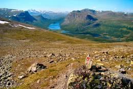 Prinsehytta i Sikkilsdalen langt der borte - Foto: Bjørn Chr. Tørrisen