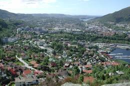 Utsikt fra Knatten - Foto: Svein-Magne Tunli