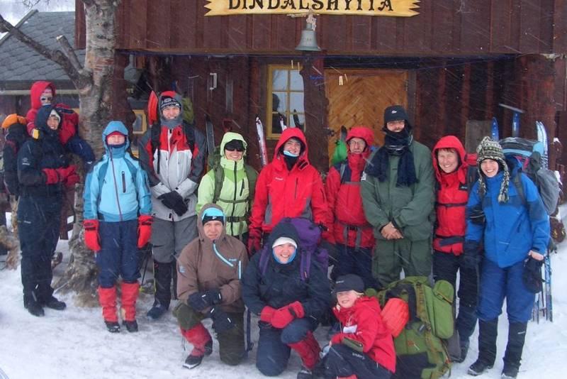 Deltaker på TT vinterkurs.