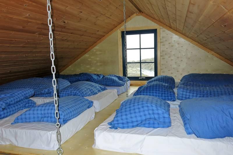 Soveplasser på hemsen