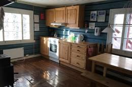 Kjøkken med alt utstyr - Foto: Linda Sannum