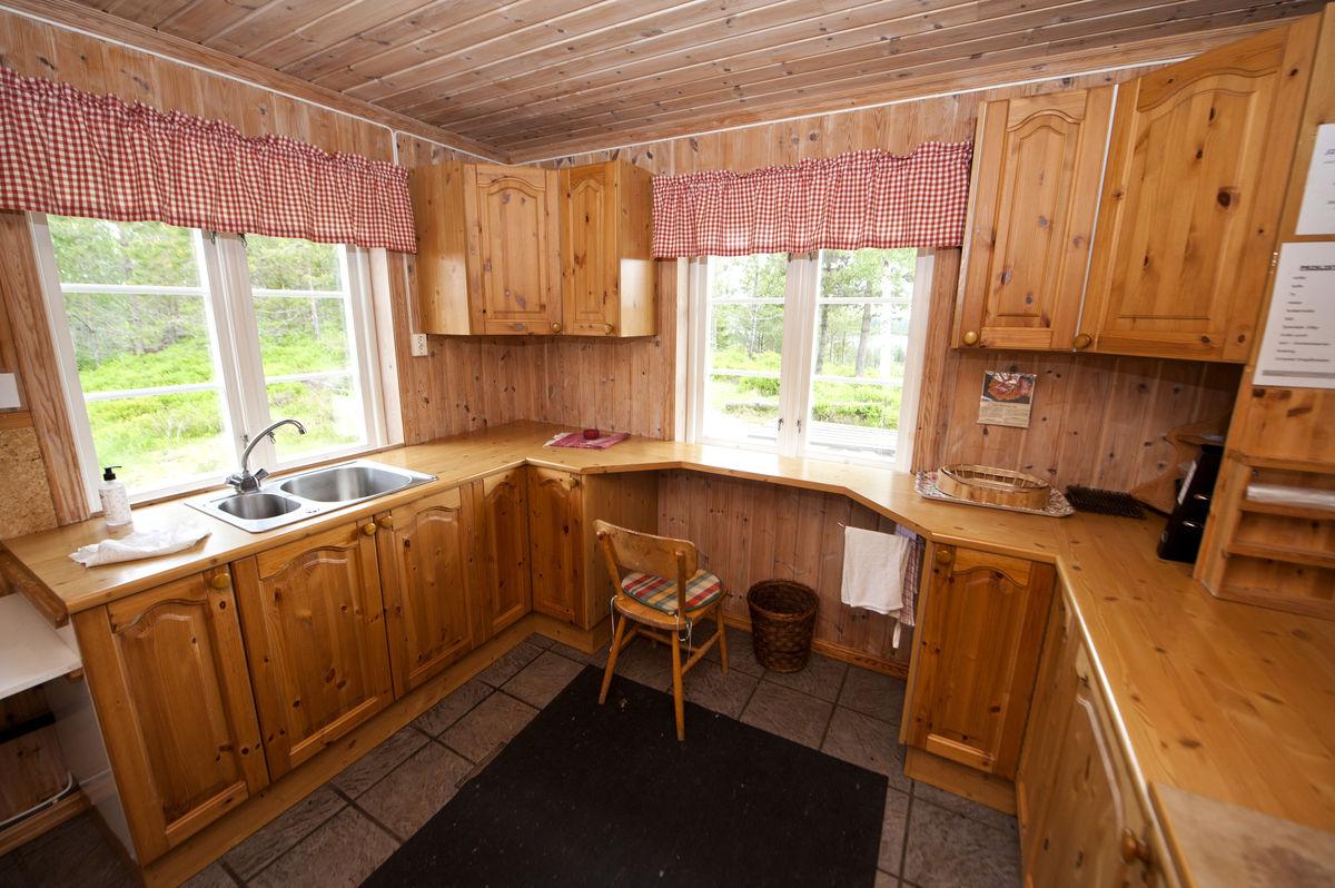 Kjøkken nede