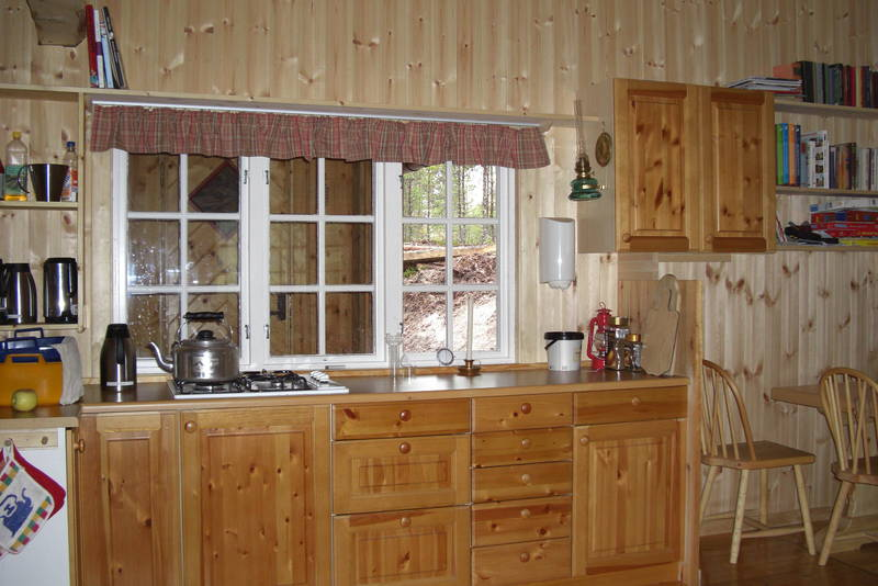 Kjøkkenbenk, her kan det lages god mat