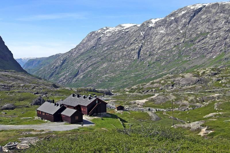 Utsikt utover dalen