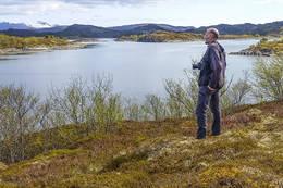 Fin utsikt til Hamsundpollen - Foto: Kjell Fredriksen