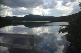 Utsikt mot det sørligste av Haglebuvanna.  - Foto: Hilde Roland