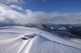 Utsyn vestover, ut Førdefjorden -  Foto: Atle Holsen, IST