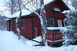 Skoddeberghytta vinter - Foto: Raymond Riise