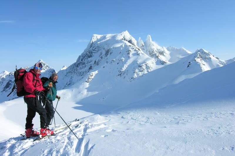 Skitur mot Møysalen