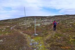 Rondanestien mot Taterungskampen -  Foto: Erik Ilseng
