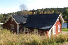 Hytta sett fra baksiden - Foto: Henning Hoff Wikborg/DOT