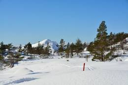 Buskarehompen sett frå austsida - Foto: Roald Årvik