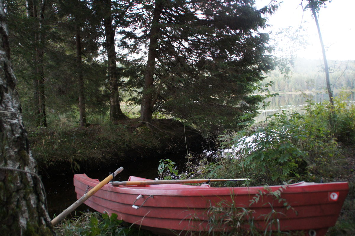 Låne robåt til fiske