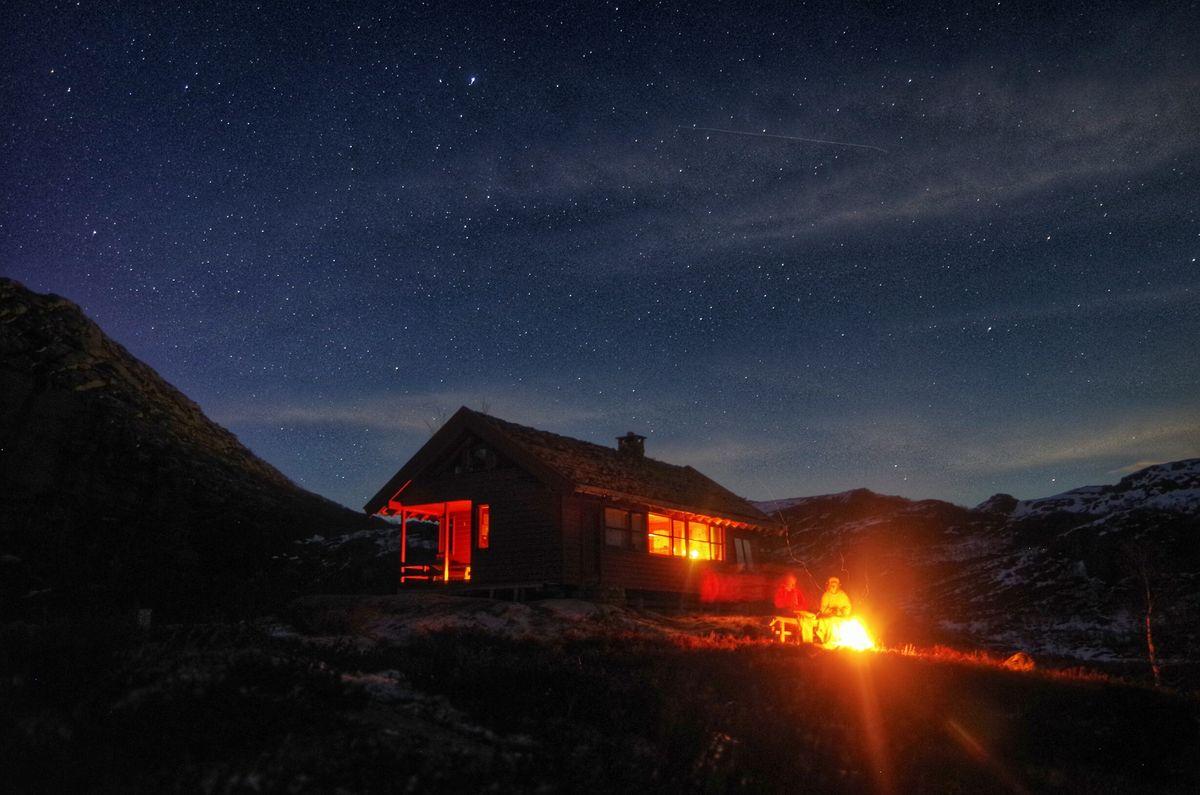 Vinternatt på Støle