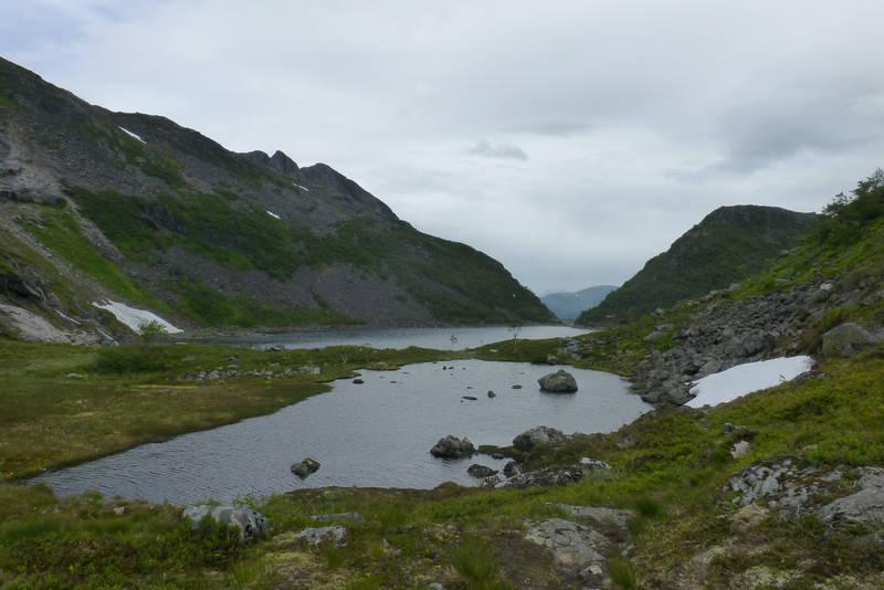 Heimste Rinddalsvatnet.