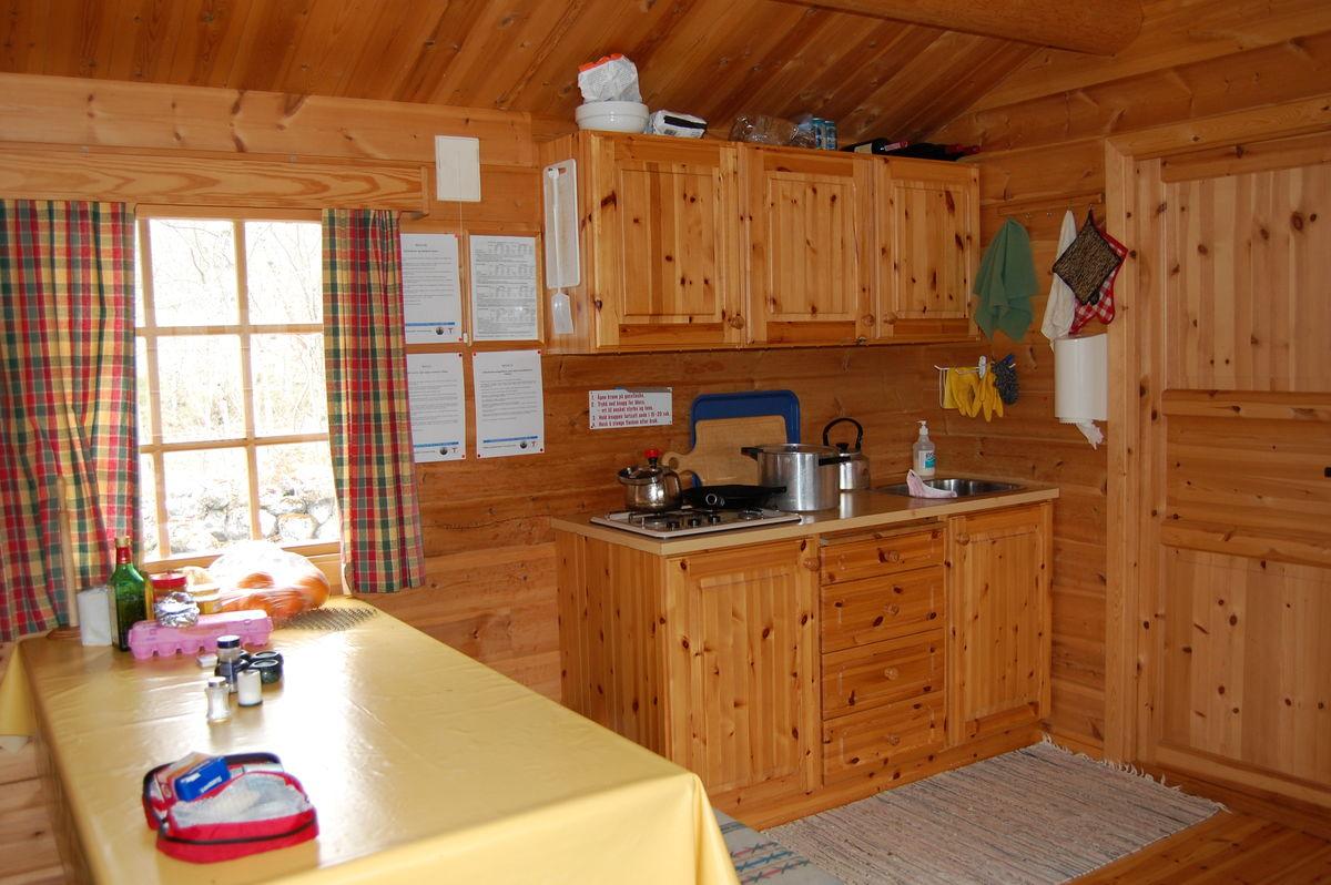 Kjøkkenet på Brandstadbu