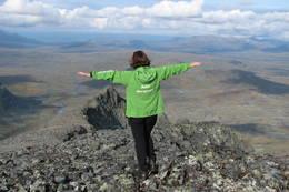 Tatt fra toppen på Storsola - Foto: Odd Harald Eriksen
