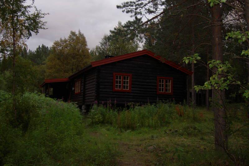 Nedrefosshytta - Reisadalen i Troms fylke.