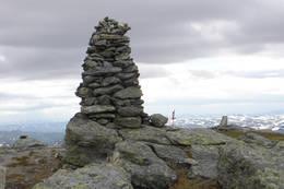 Toppen av Vesle Nup -  Foto: Haukeliseter fjellstue