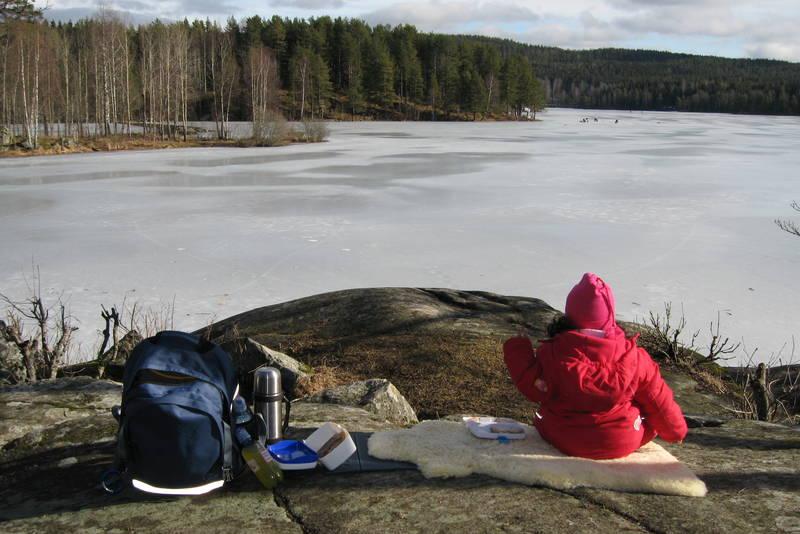 Nøklevann er en idyll i Østmarka.