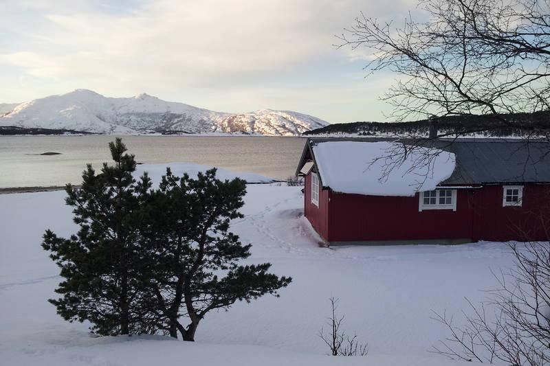 Egnarbua en fin vinterdag