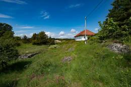 Hytta fra sør - Foto: Øivind Bruce