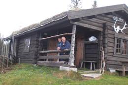 Øvre Fjellstul oktober 2011  -  Foto: Lise Holm