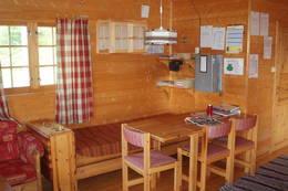 Spisekroken på Skjækerdalshytta - Foto: Nord-Trøndelag Turistforening