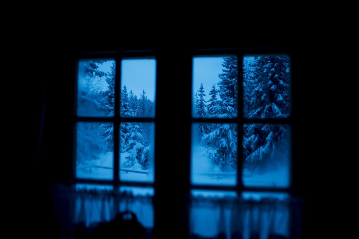 Vinterkveld ved Jørgenhytta