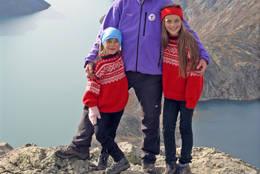 Toppen av Besseggen - Foto: Eva Cecilie Simensen
