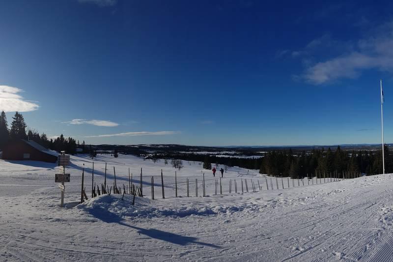 Fin utsikt fra Målia.