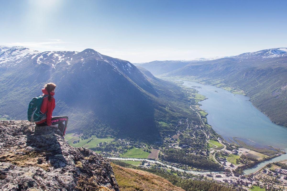Fantastisk utsikt frå Læshø