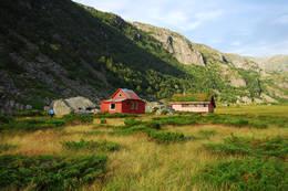 Hyttene i Viglesdalen -  Foto: Odd Inge Worsøe