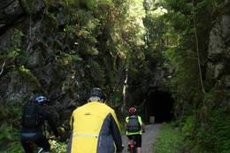 Inn i tunnelen - Foto: Ragnar Dæhli