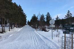 Startpunkt ved Dombås skiarena -  Foto: Steinar Tolf Jacobsen